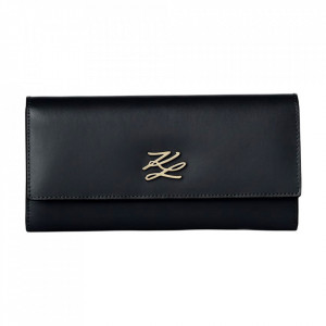 Karl Lagerfeld woman wallet autograph