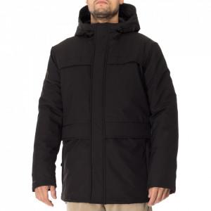 Minimum man black parka jacket