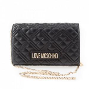Moschino Love borsa tracolla trapuntata nera
