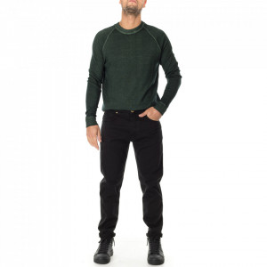 Outift jeans casual nero