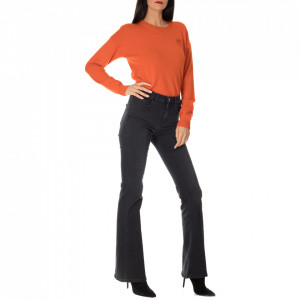 Pinko black flared jeans