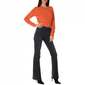Pinko jeans nero a zampa