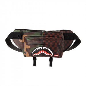 Sprayground marsupio Checkered Camo