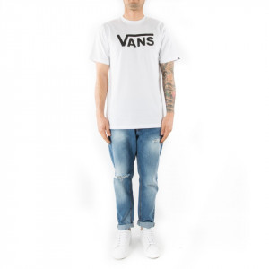 Vans tshirt classic white