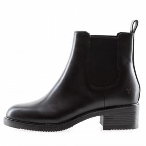 Windsor Smith Cece black low booties