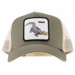 Goorin bros cappello trucker coccodrillo verde