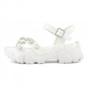 Colors of California sandali bianchi suola running