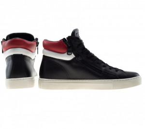 crime-london-sneakers-alte-nere-double-zip