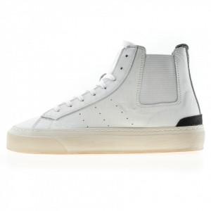 Date sneakers bianche alte sonica