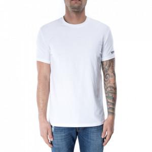Dsquared2 tshirt bianca logata