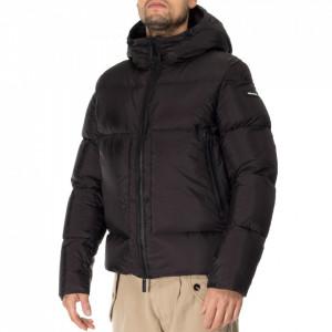 Freedomday black short down jacket