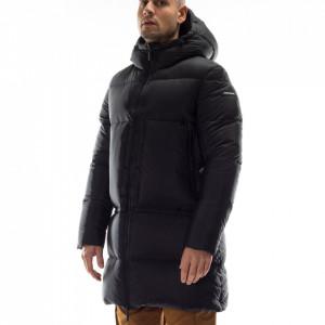 Freedomday man long black down jacket