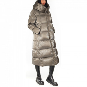 Freedomday over light brown down jacket