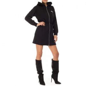 Gaelle abito in felpa con cappuccio e zip