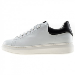 Gaelle sneakers uomo basse bianche