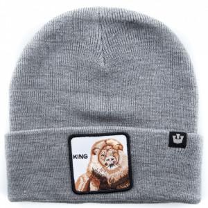 Goorin cappello in lana leone grigio