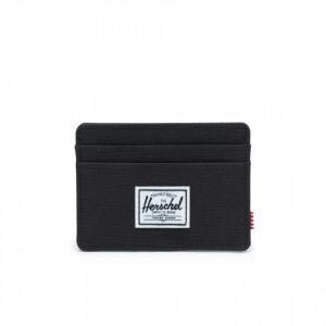 Herschel portacarte Charlie nero