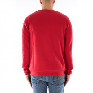 Hype felpa rossa girocollo
