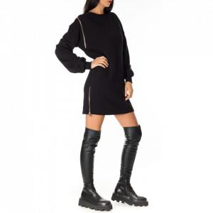 Jijil casual black sweatshirt dress