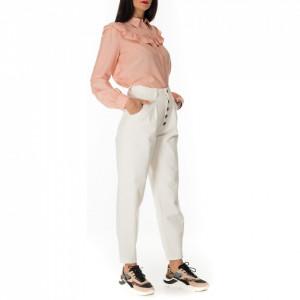 Jijil-jeans-bianco-vita-alta