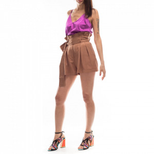 Jijil short marrone