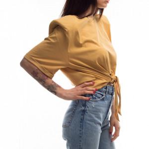 t-shirt-annodata-gialla-donna