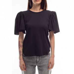jiji-t-shirt-nera-maniche-sbuffo