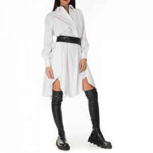 Jijil white shirt dress