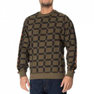 John Richmond all-over print crewneck sweatshirt