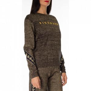 richmond-maglia-donna-lurex-oro