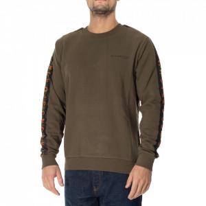 John Richmond military green sweatshirt