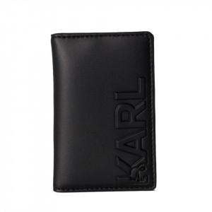 Karl Lagerfeld portacarte in pelle nero