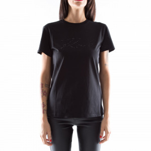 Karl Lagerfeld t shirt donna signature