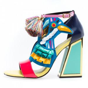 Kat Maconie Aya colorful women's sandals