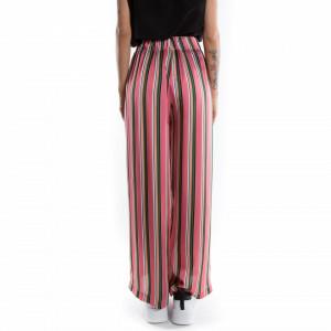 pantalone palazzo a righe colorate 2020