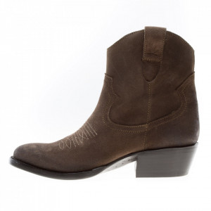 Mezcalero stivali texani marroni estivi