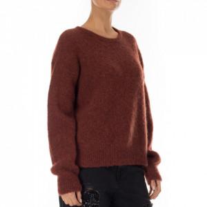 Minimum maglione in lana bordeaux