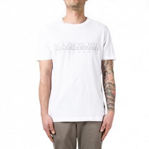 Napapijri t-shirt bianca con logo