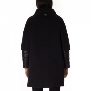NoSecret-cappotto-con-piumino-nero