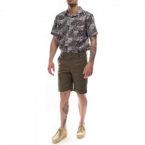 Outfit pantaloncini cotone uomo verdi