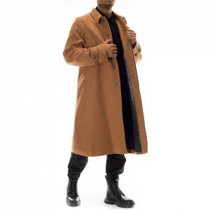 Paura oversized camel coat