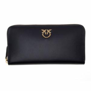 Pinko black wallet with zip