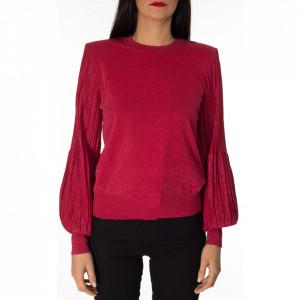 Pinko red lurex sweater