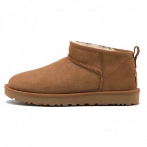 UGG ultra mini chestnut boots