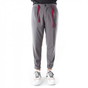 OUTFIT pantalone classico grigio