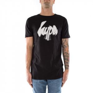 Hype t-shirt nera con logo