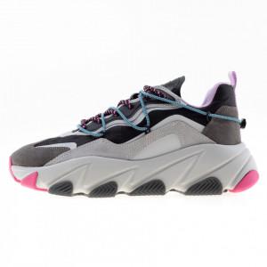 Ash extra sneakers running nero grigio