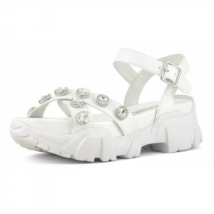 sandali-bassi-suola-gomma-bianchi