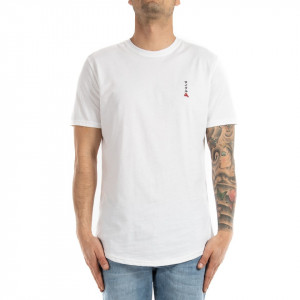 Cycle t shirt uomo bianca con stampa