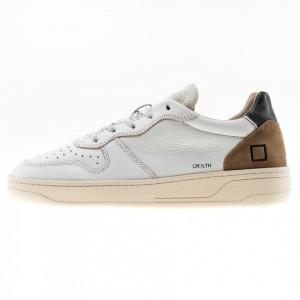 Date scarpe basse uomo Court vintage bianche